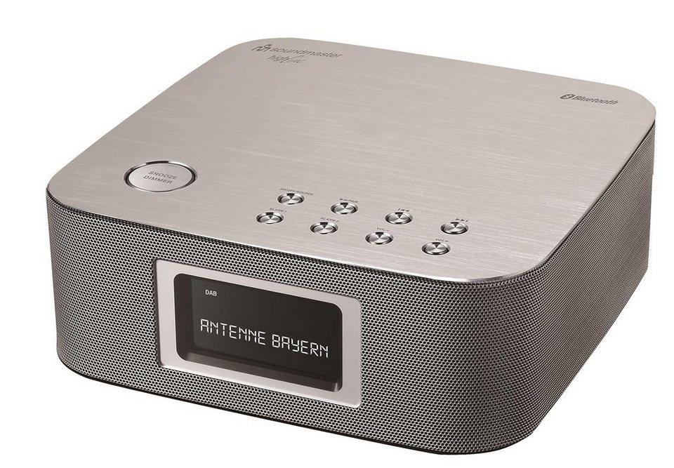 soundmaster DAB radio »UR406SI« in Silber