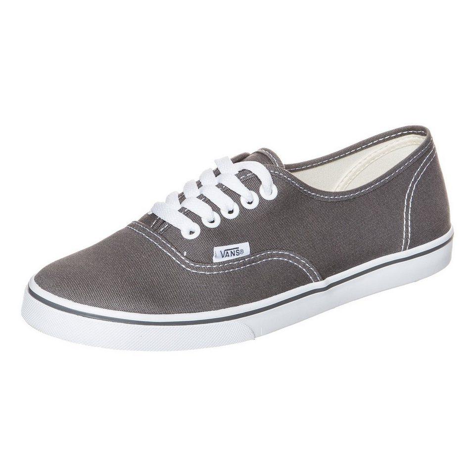 VANS Authentic Lo Pro Sneaker Damen in grau / weiß