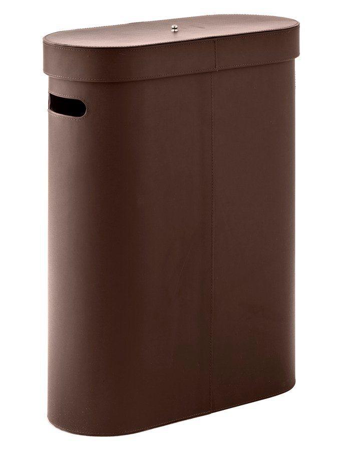Wäschekorb in braun