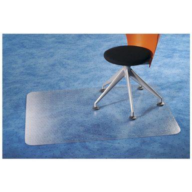 FLOORTEX Bodenschutzmatte 120x75 cm, rechteckig, für Teppichboden