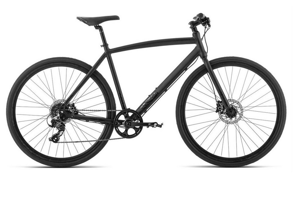 Fitnessbike Herren, 28 Zoll, 9 Gang Shimano Acera, schwarz, »Carpe 20«, ORBEA in schwarz