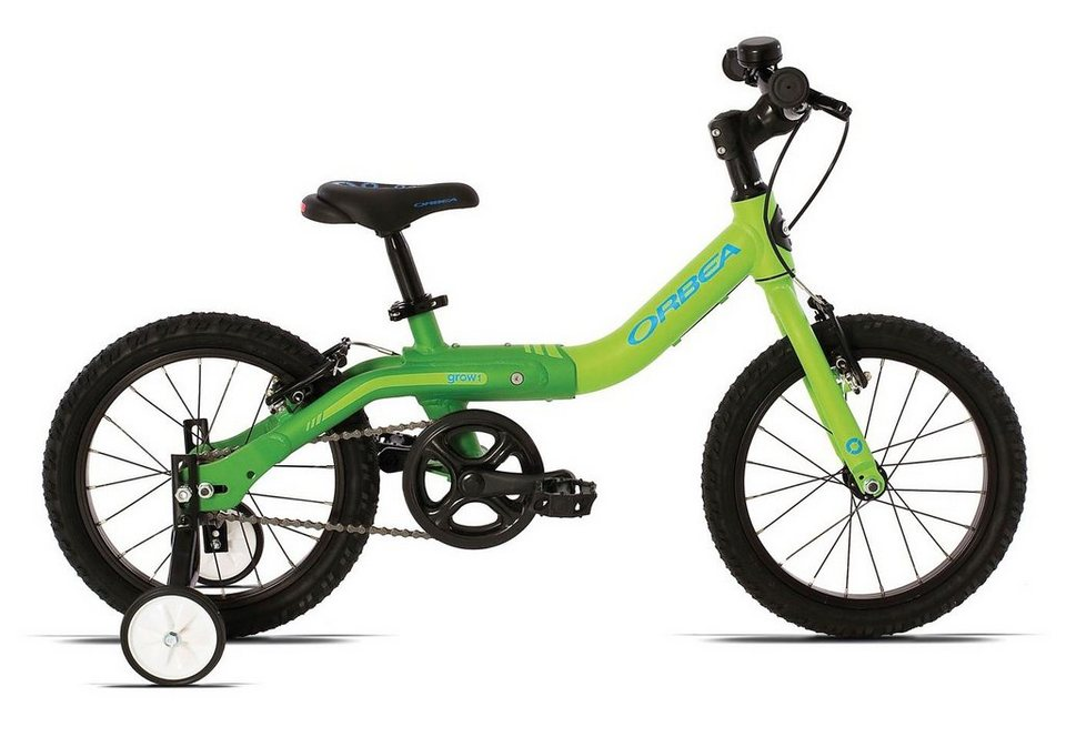 kinderfahrrad 16 zoll gr n grow 1 orbea otto. Black Bedroom Furniture Sets. Home Design Ideas