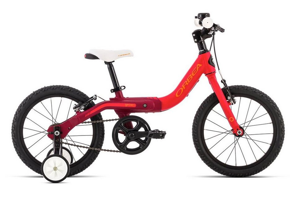 kinderfahrrad 16 zoll rot grow 1 orbea otto. Black Bedroom Furniture Sets. Home Design Ideas