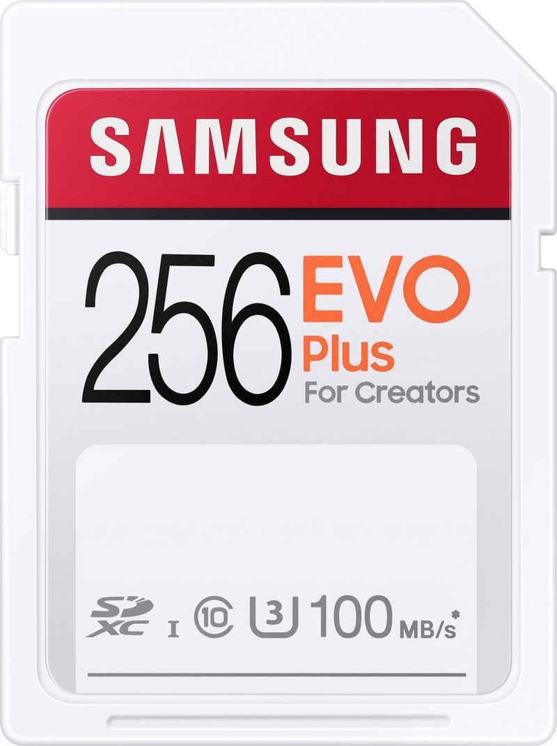 Samsung »EVO Plus 256GB SDXC UHS-I U3« Speicherkarte (256 GB, UHS Class 3, 100 MB/s Lesegeschwindigkeit)