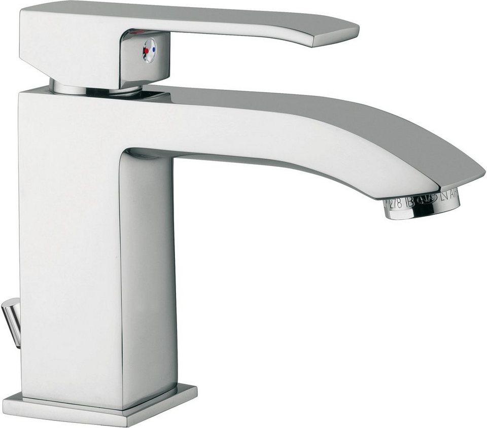 Eyckhaus bath & relaxing Waschtischarmatur »Corner« Hochdruck in chrom