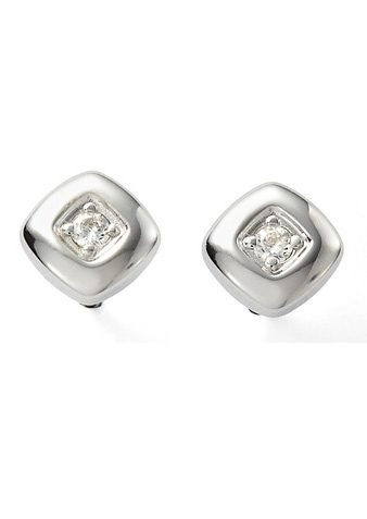 Paar Ohrstecker, »Sterling Classics, JF14511040«, Fossil