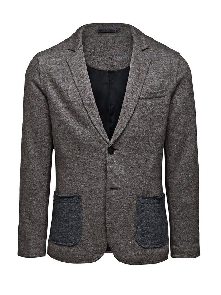 Jack & Jones TWIST BLAZER 10-11-12 -2013 DNA in Brown Sugar