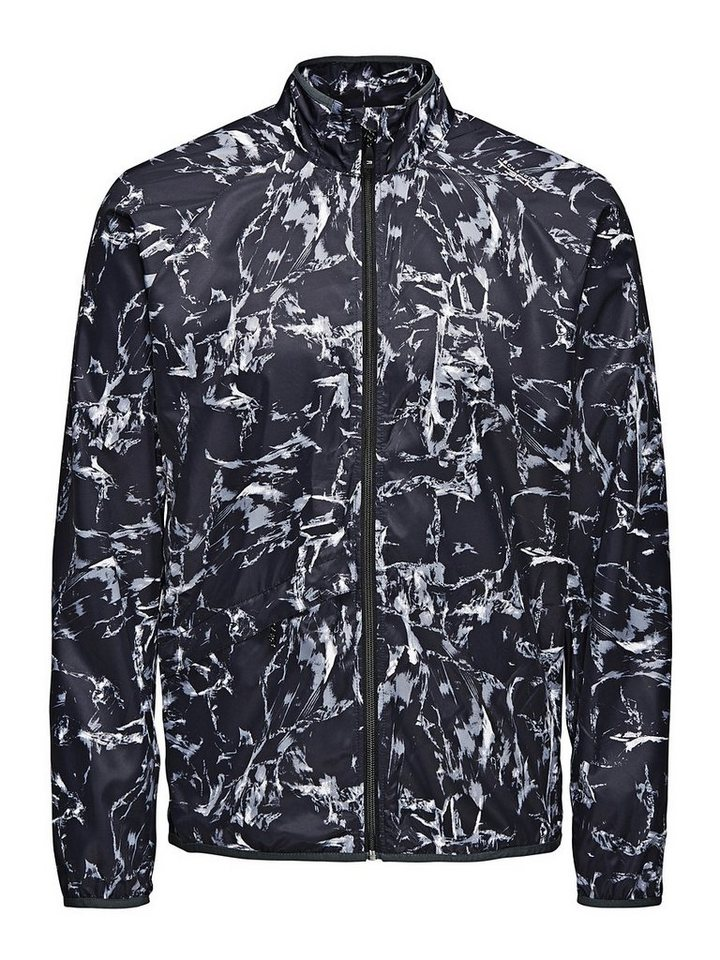 Jack & Jones Gemustert Sportjacke in Black