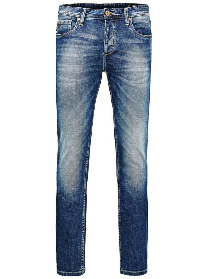 Jack & Jones Tim Original AT 984 Slim Fit Jeans in Blue Denim