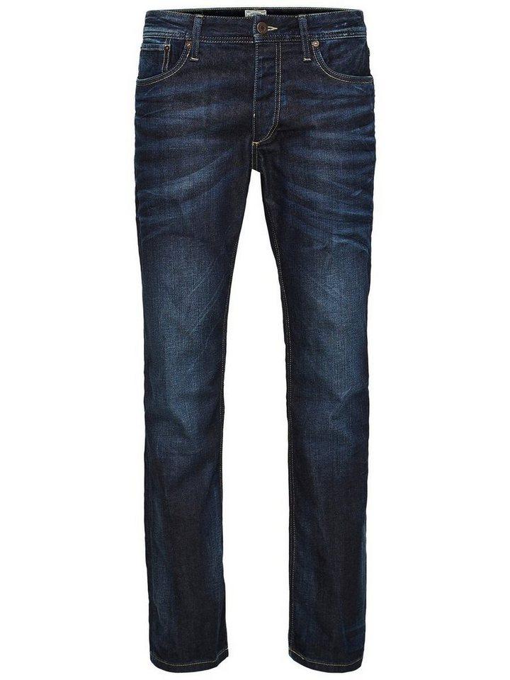 Jack & Jones Clark Original JOS 318 Regular fit Jeans in Blue Denim