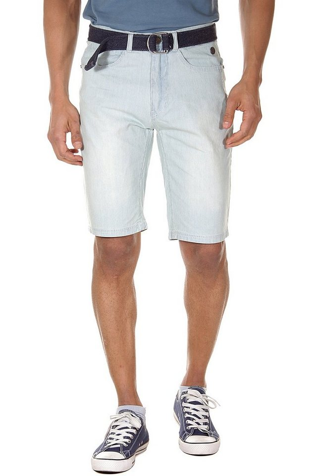 BLEND Shorts slim fit in hellblau