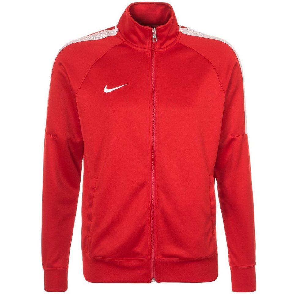 NIKE Team Club Trainingsjacke Herren in rot / weiß