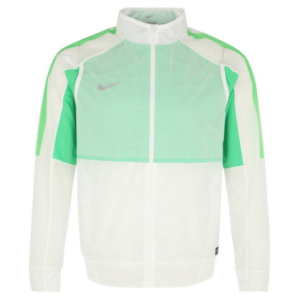 NIKE Select Revolution Trainingsjacke Herren in weiß / grün