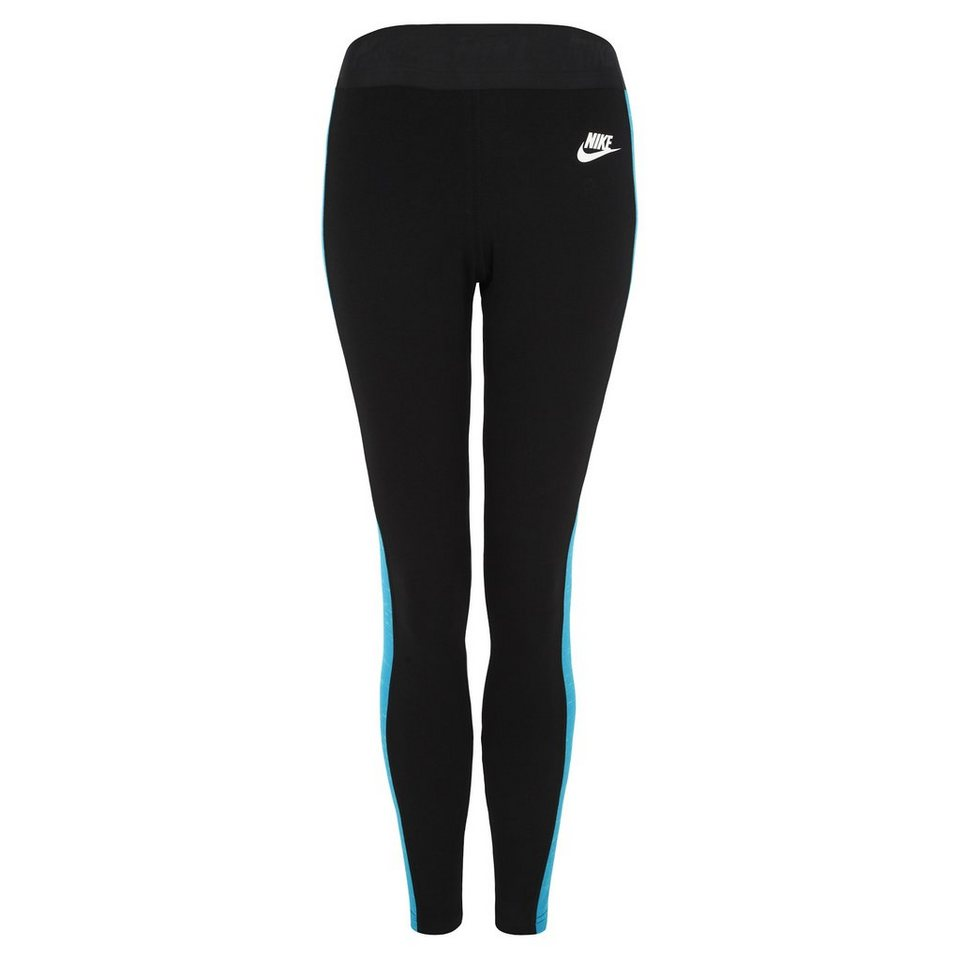 Nike Sportswear Tech Fleece Legging Damen in schwarz / weiß
