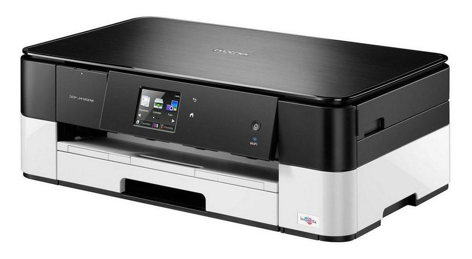 Brother Tintenstrahl-Multifunktionsdrucker »DCP-J4120DW 3in1« in Schwarz
