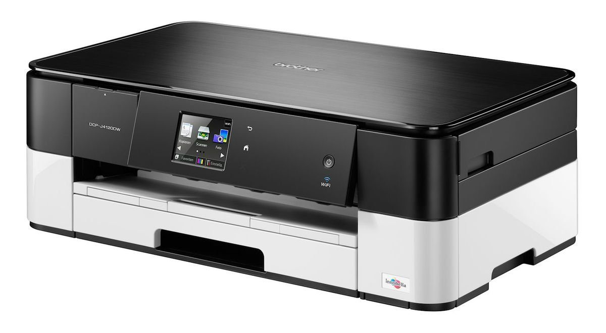 Brother Tintenstrahl-Multifunktionsdrucker »DCP-J4120DW 3in1«
