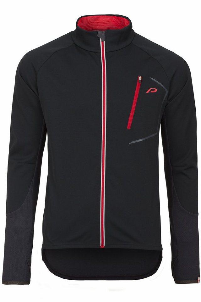 Protective Radjacke »Hastings Softshell-Trikot-Jacket Men black« in schwarz