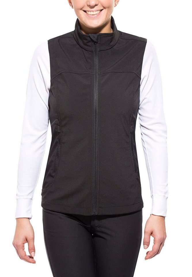 axant Weste »Alps Softshell Vest Women« in schwarz