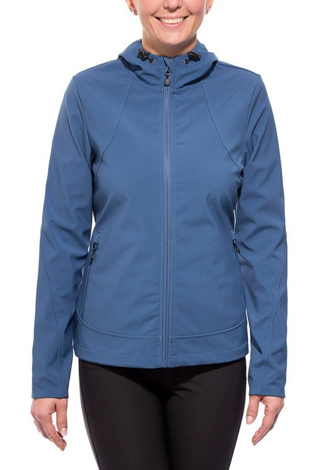axant Softshelljacke »Alps Softshell Jacket Women« in blau