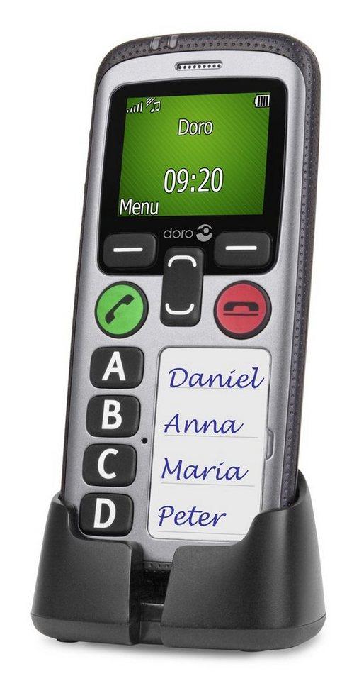 Doro Handy »Secure 580IUP (silber-schwarz)« in Silber