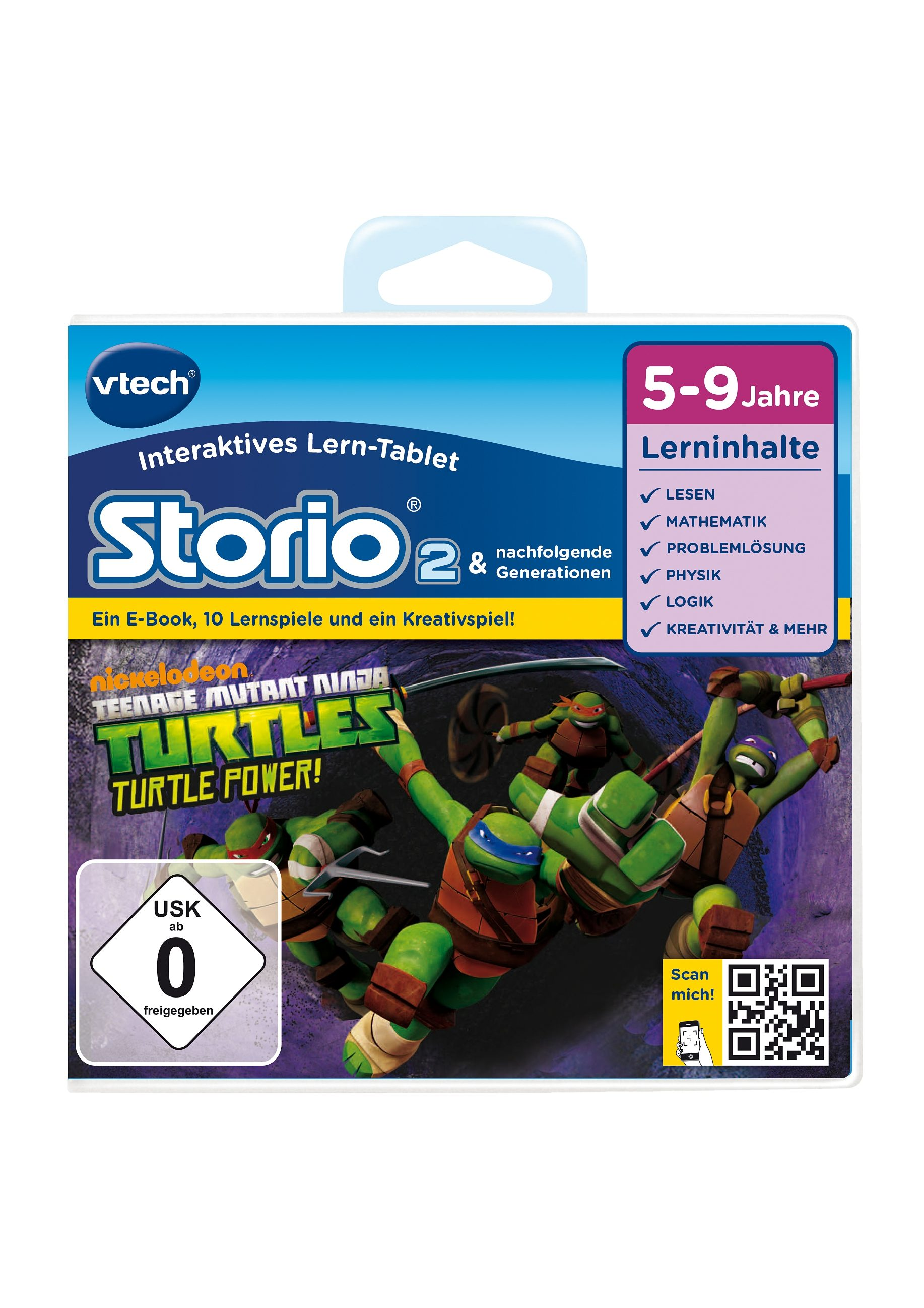 VTech Lernspiel, »Storio 2 - Teenage Mutant Ninja Turtles«