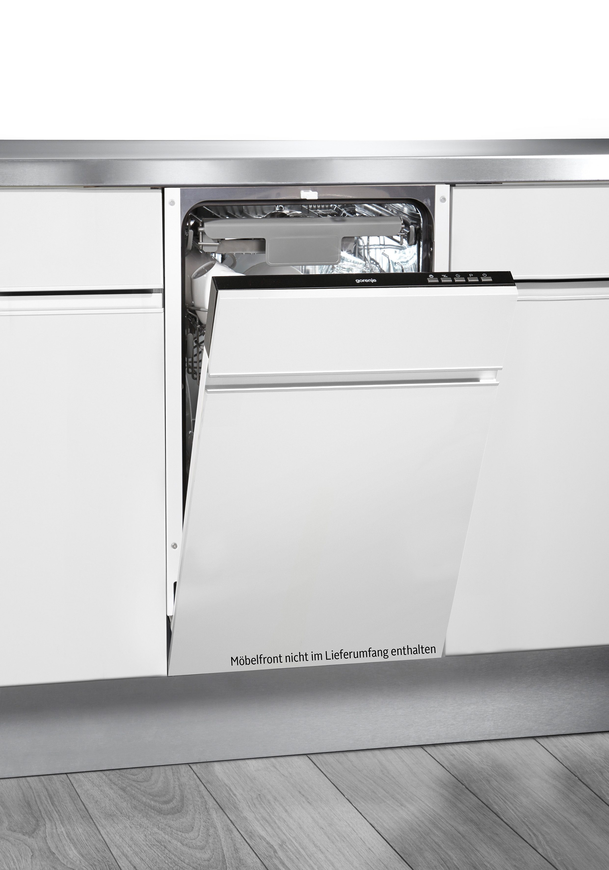 Gorenje vollintegrierbarer Einbau-Geschirrspüler GV53315, A++, 8,5 Liter, 10 Maßgedecke