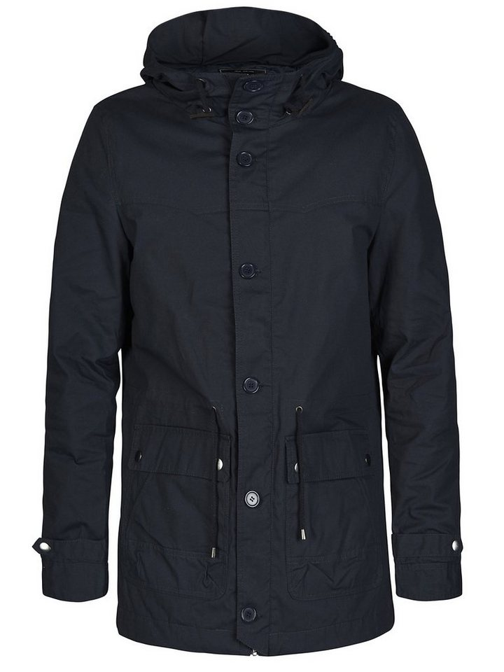 ONLY & SONS Hoher Kragen Jacke in Dark Navy
