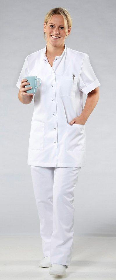 Damen-Pflegejacke in weiß