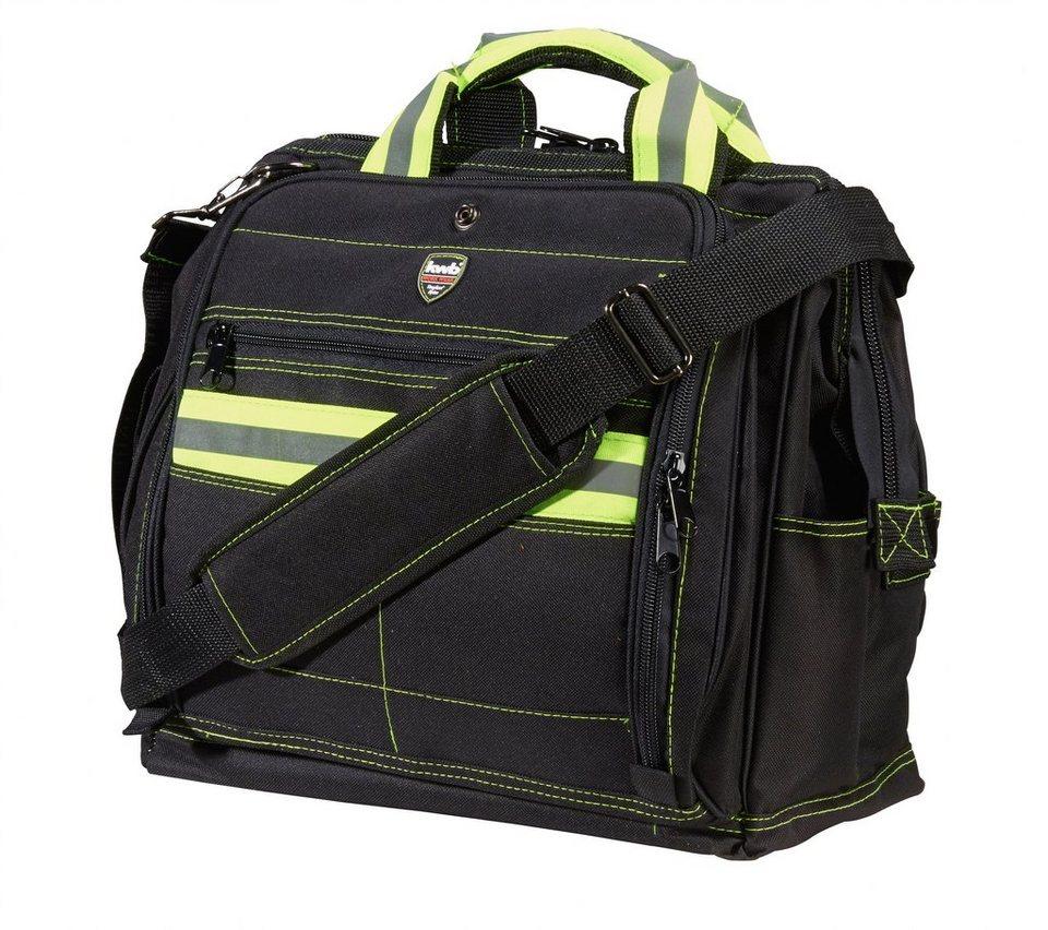 Textil-Werkzeugtasche in schwarz