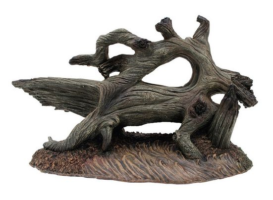 MARINA Set: Aquariendeko »Treibholz und Stegosaurus«, 2-teilig