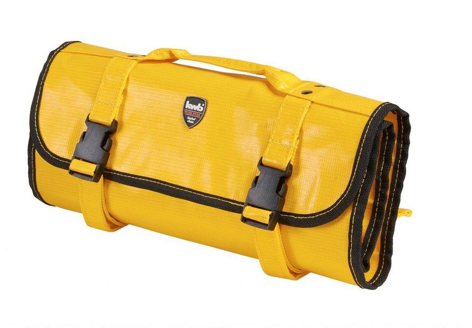 Textil-Werkzeugtasche in gelb