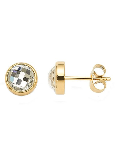 Paar Ohrstecker, »joy gold, 015478«, Jewels by Leonardo