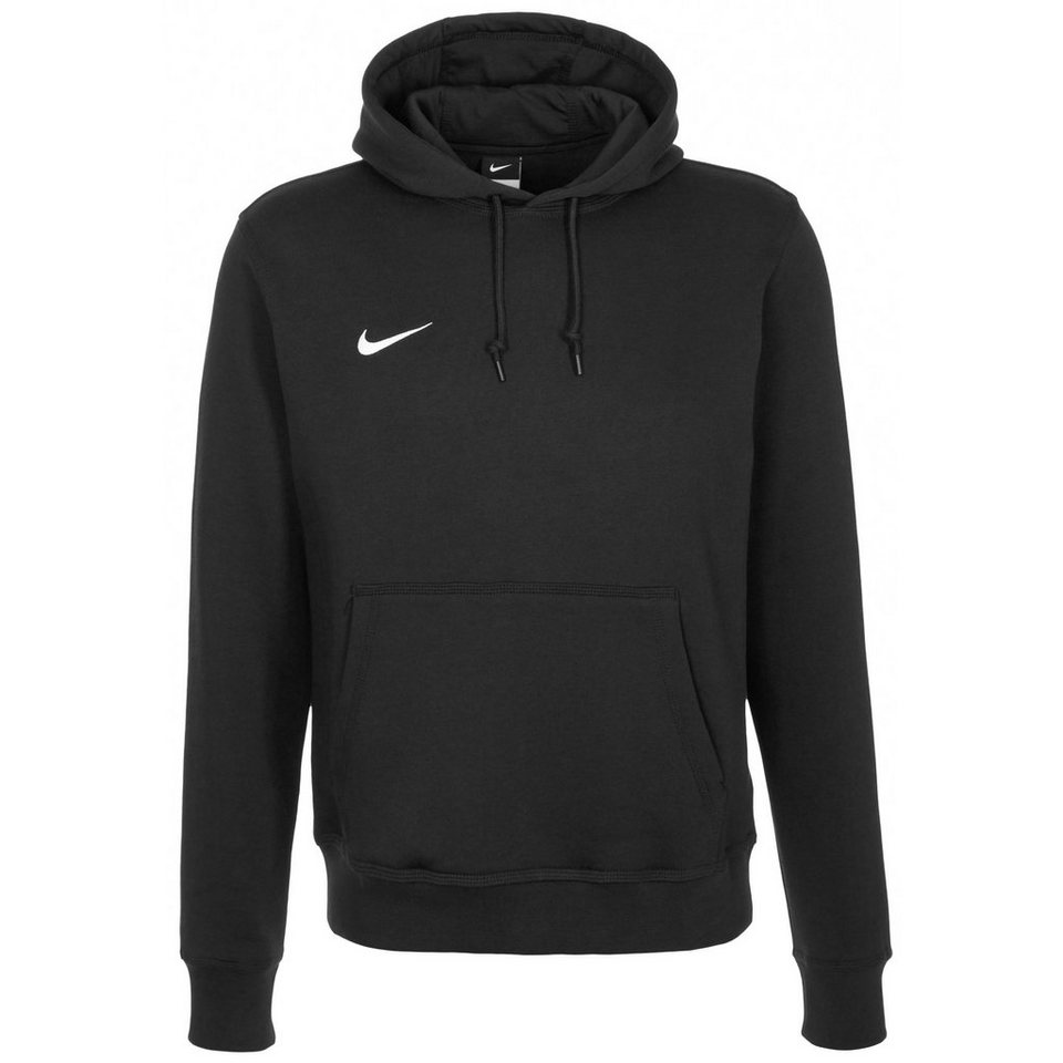 NIKE Team Club Trainingskapuzenpullover Herren in schwarz / weiß