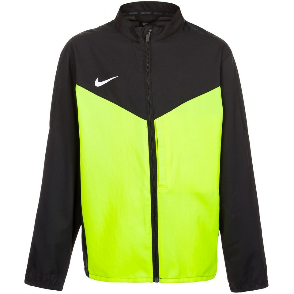 NIKE Team Performance Shield Trainingsjacke Kinder in schwarz / lime