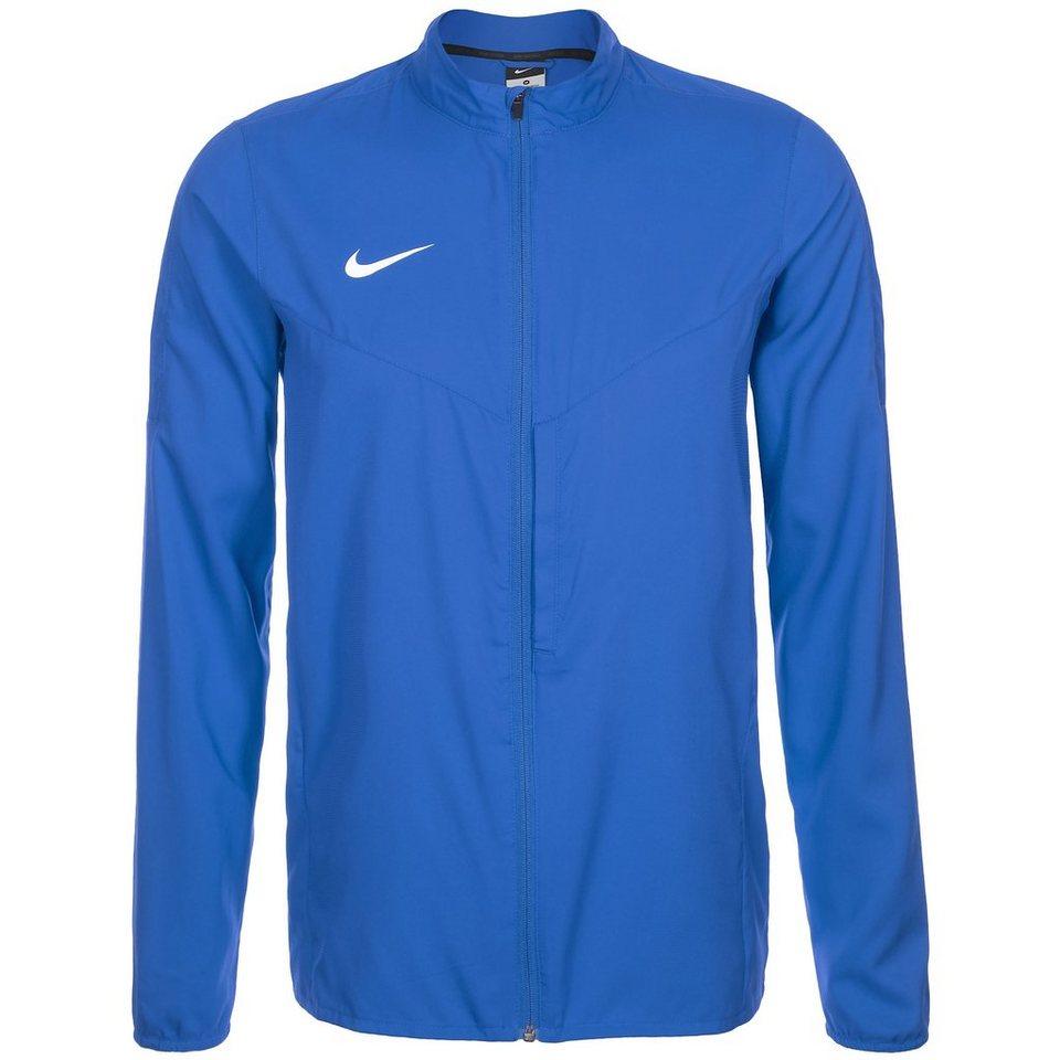 NIKE Team Performance Shield Trainingsjacke Herren in blau / weiß