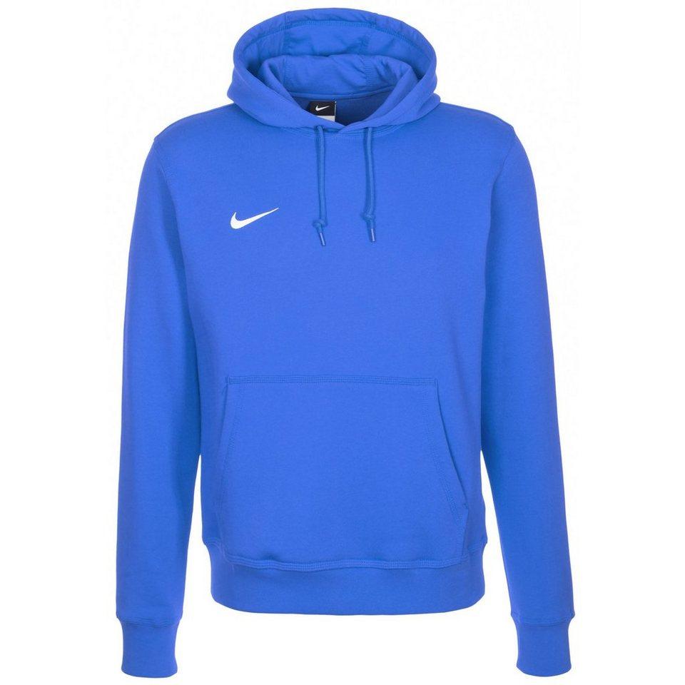NIKE Team Club Trainingskapuzenpullover Herren in blau / weiß