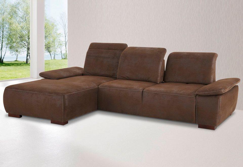 home affaire polsterecke tobago mit recamiere und. Black Bedroom Furniture Sets. Home Design Ideas
