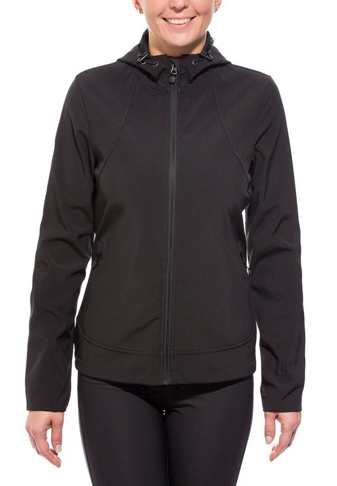 axant Softshelljacke »Alps Softshell Jacket Women« in schwarz