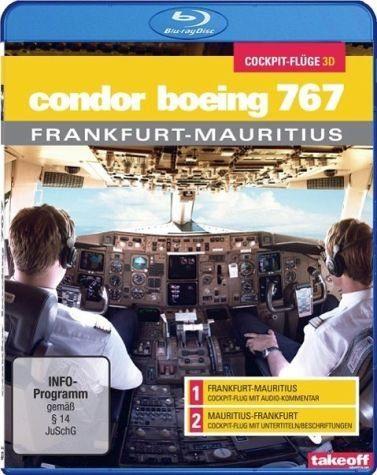 Blu-ray »Condor Boeing 767 - Cockpit-Flüge (3D), 1 Blu-ray«