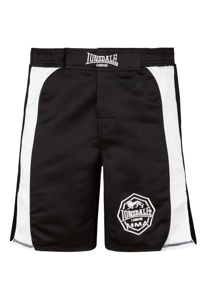 Lonsdale Short in Black/White