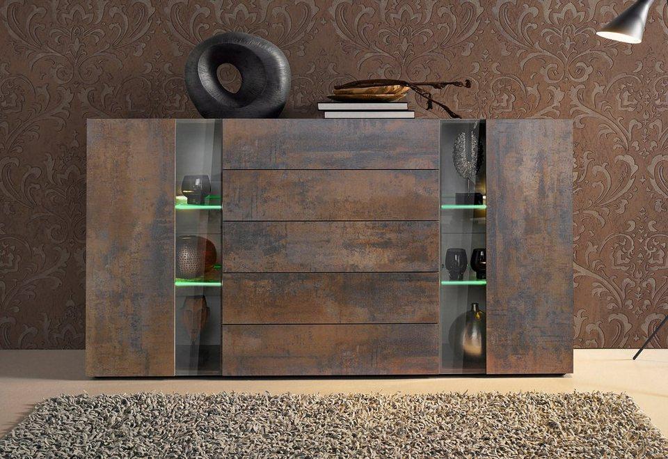 roomed highboard breite 166 cm online kaufen otto. Black Bedroom Furniture Sets. Home Design Ideas