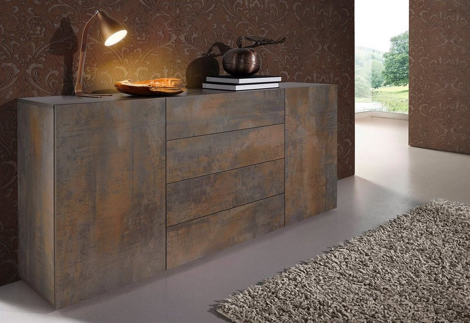 places of style sideboard breite 166 cm kaufen otto. Black Bedroom Furniture Sets. Home Design Ideas