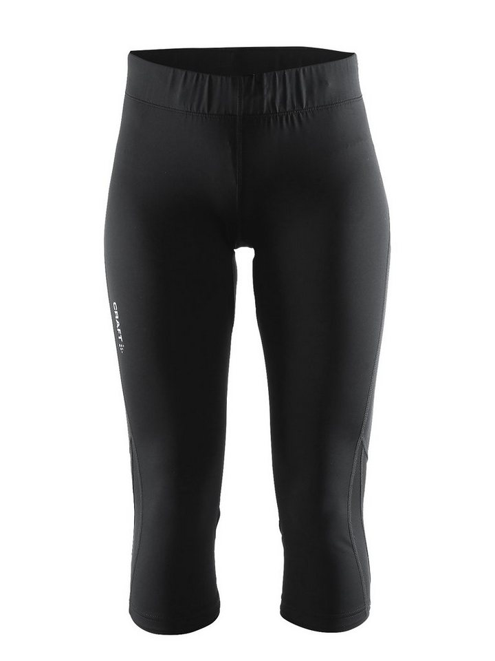 Craft Jogginghose »Prime Capri Women« in schwarz