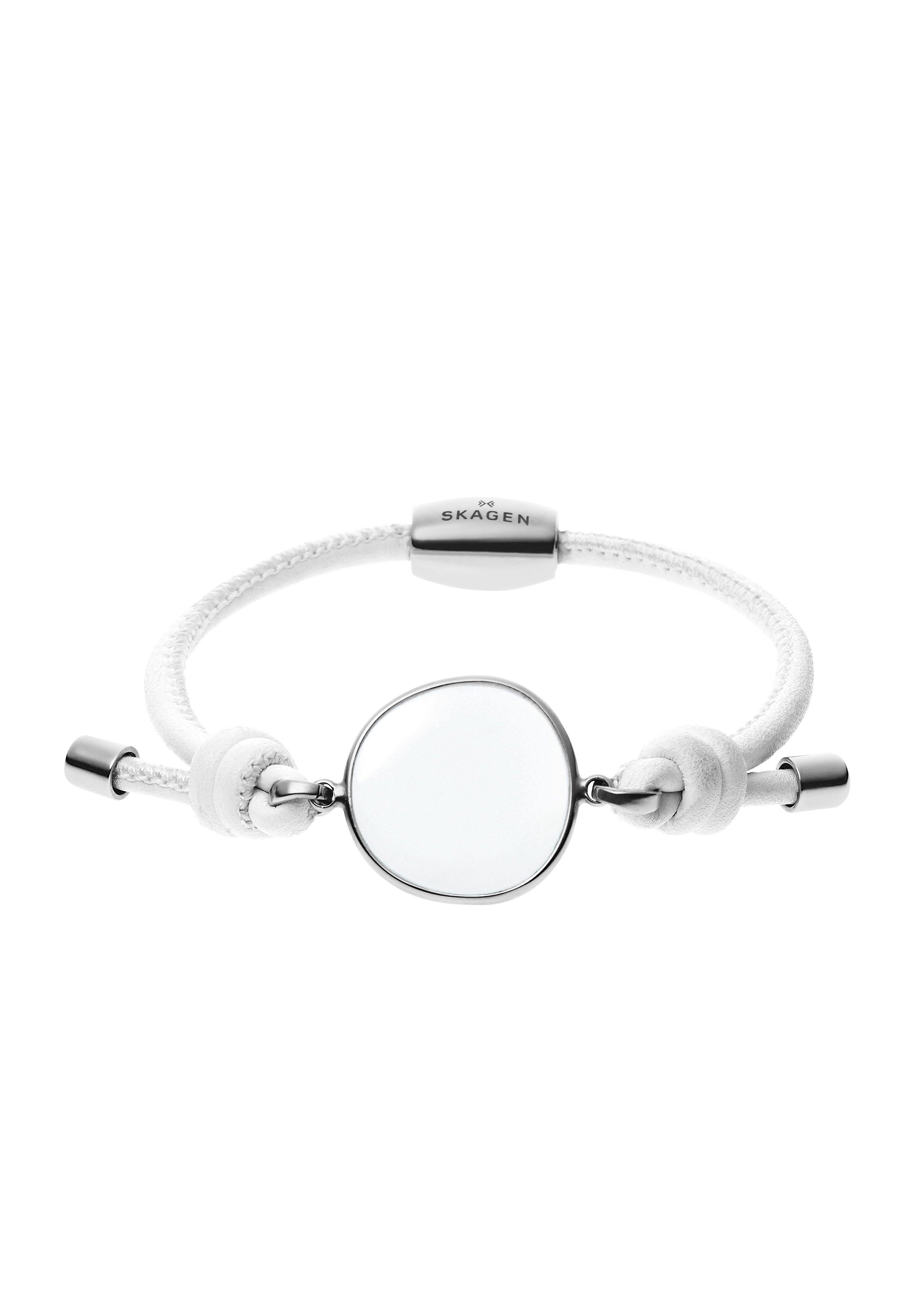 Skagen, Lederarmband, »Sea Glass, SKJ0574040«