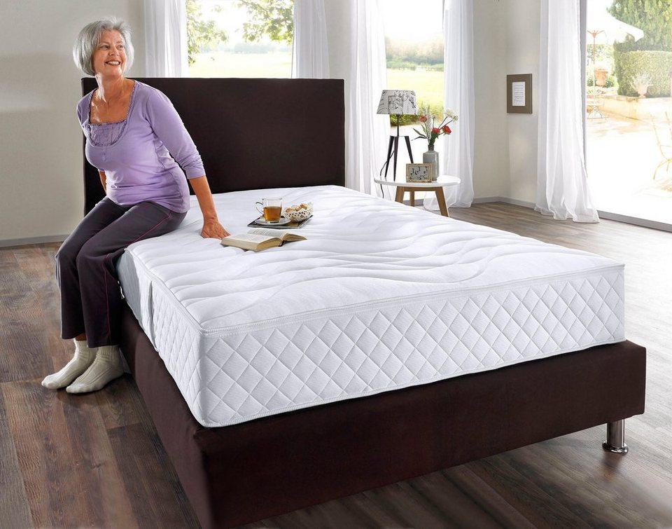 kaltschaummatratze 55 plus my home 24 cm hoch. Black Bedroom Furniture Sets. Home Design Ideas