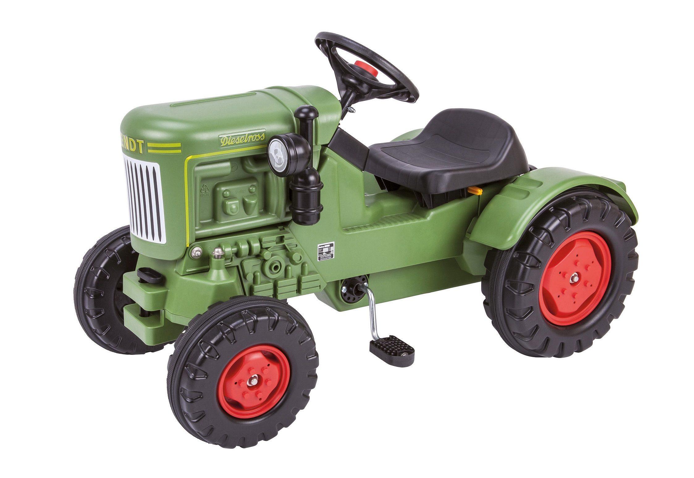 BIG Trettraktor im Original Design der Traktorlegende, »Fendt Dieselross«