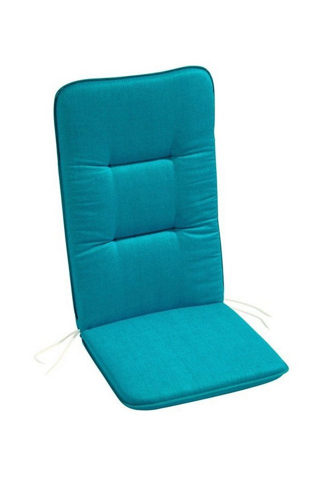 Hochlehnerauflage »Flordia (2 Stück)« in blau