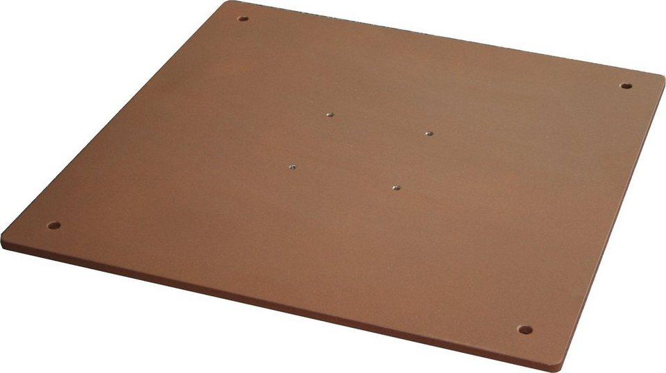 Stahlplatte für Strohschirm »Sambesi« in grau