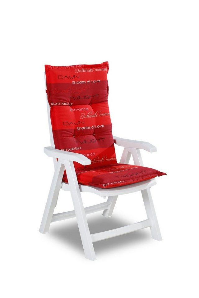BEST Gartenstuhl »2 Sessel Florida«, (2er Set), Kunststoff, Verstellbar