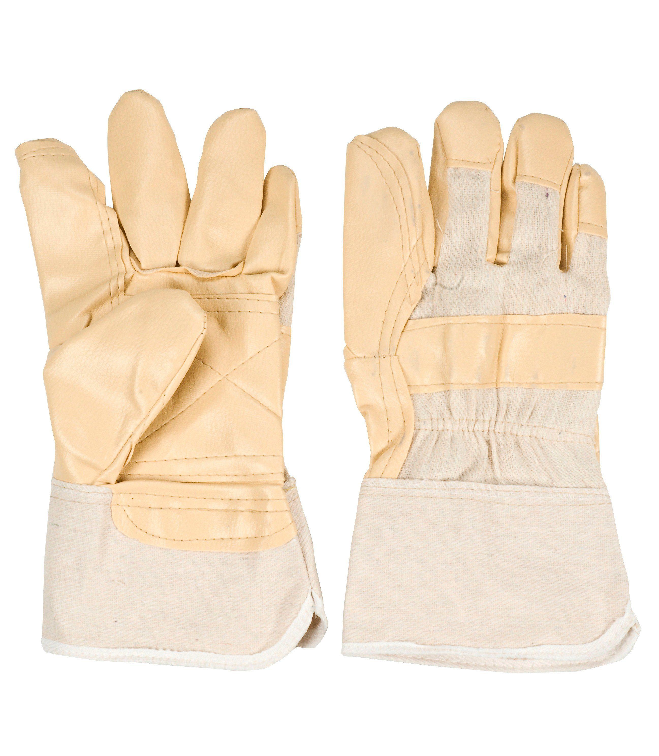 Kunstleder Handschuh (6 Paar)